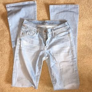 Citizens of humanity lightwash jeans